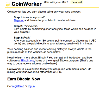 Coinworker – A Noob's Way To Coin Up – Coin Currency News