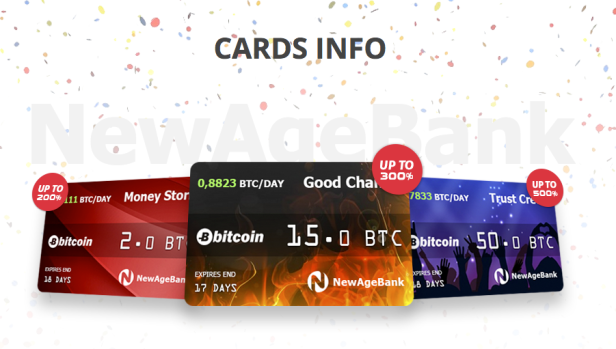 New Age Bitcoin Bank, 200%-500% profit – Coin Currency News