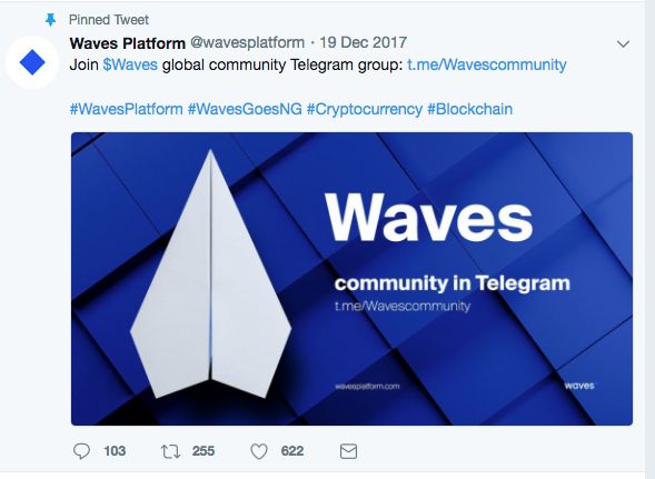 Waves Platform Set To Fly