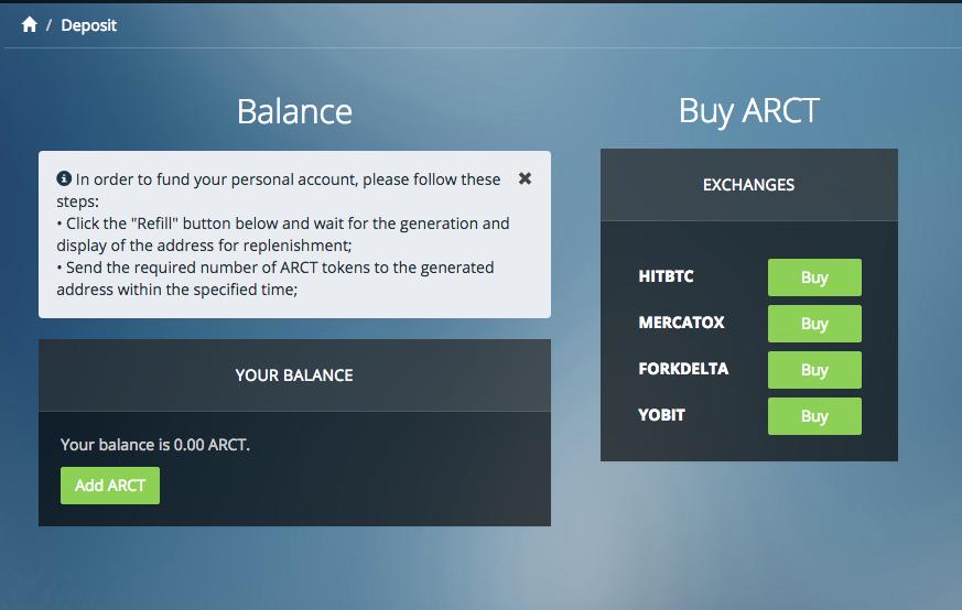 ARCT Opens Arbitrage Terminal