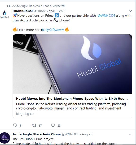 Huobi Launching Blockchain Phone?
